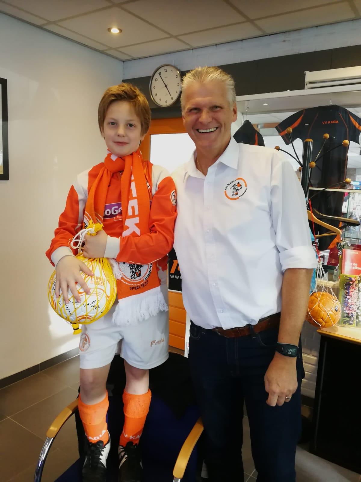 Pupil van de week: Rafi van der Laan