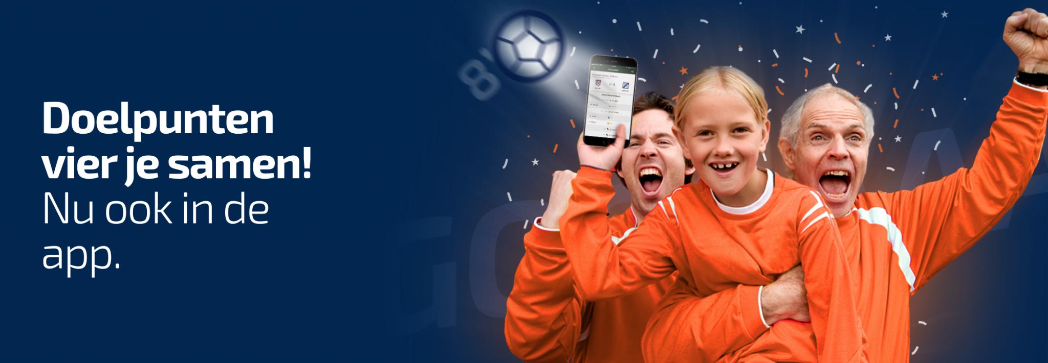 Nieuw in de wedstrijdzaken app: Voeg doelpuntenmakers toe