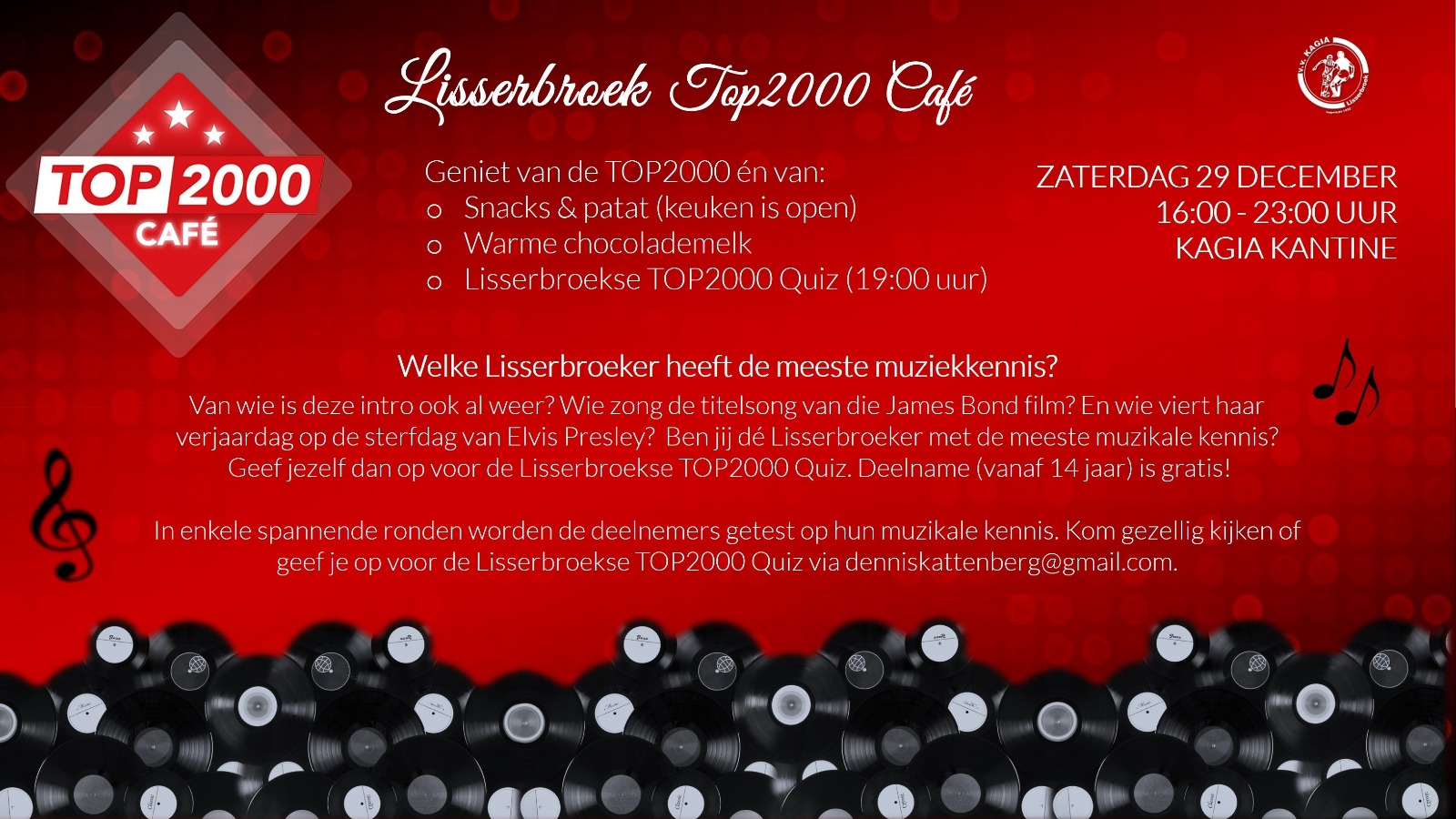 Top2000 Café Lisserbroek