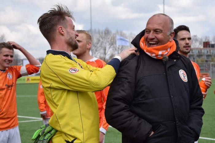 LAV: Trainer René Ras ook weer onder de pannen