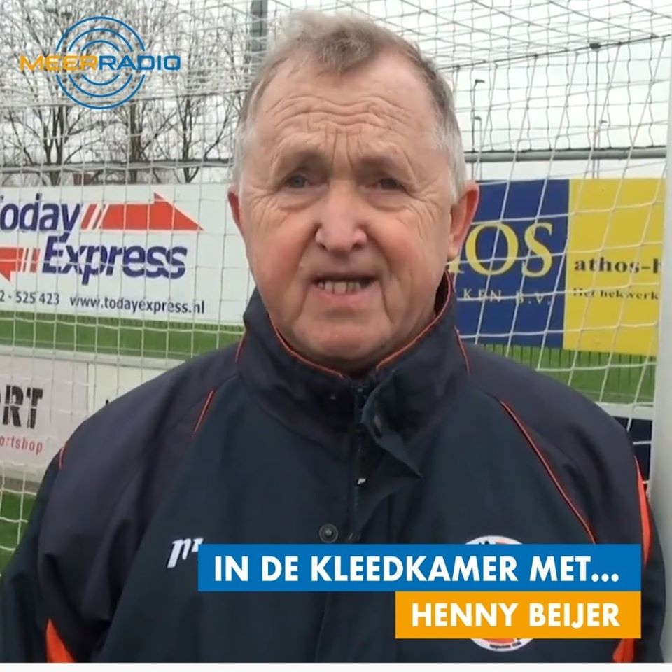 Voorzitter Rene Bakker woensdag 03/06 tussen 21:00-22:00 live op Meerradio