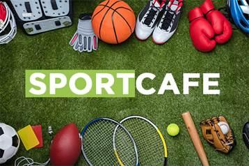 Kagia host aflevering 'Het Sportcafé' - 8 maart 2021